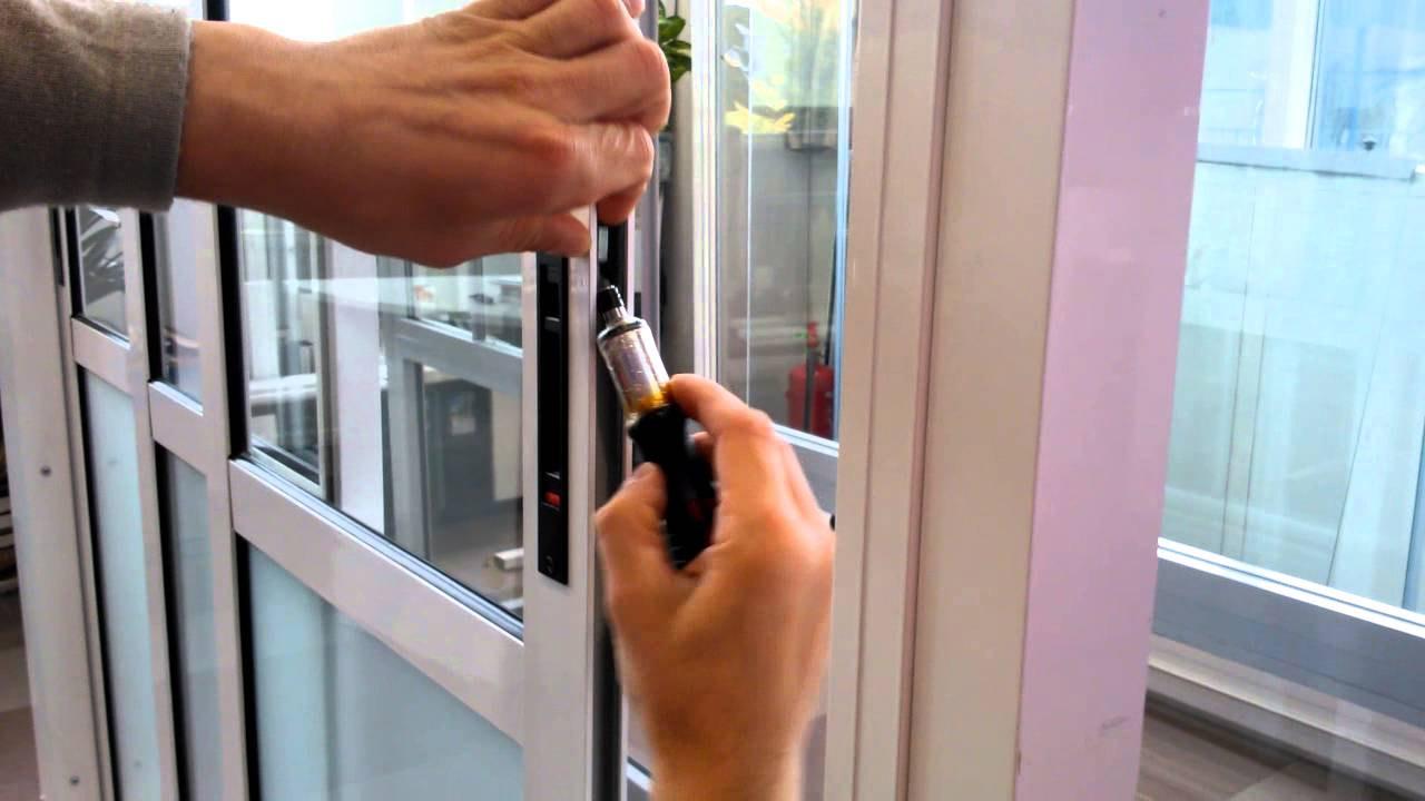 Регулировка пластиковых окон своими руками фото6